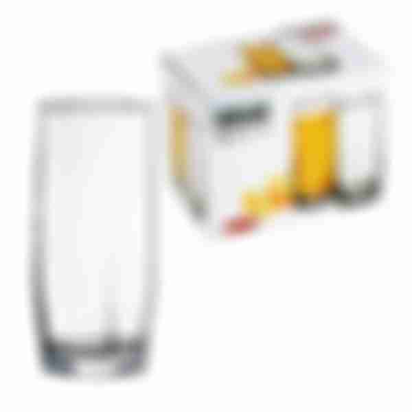 Набор стаканов Hisar для воды 6шт 225мл Арт.42858 (ф8) БОР