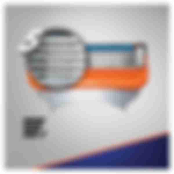 Gillette Сменные кассеты для бритвенного станка Fusion N2