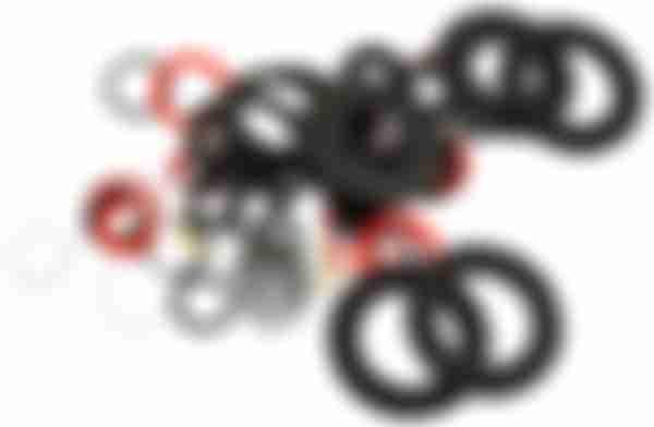 Набор сантех. прокладок Kroft 55шт 202001