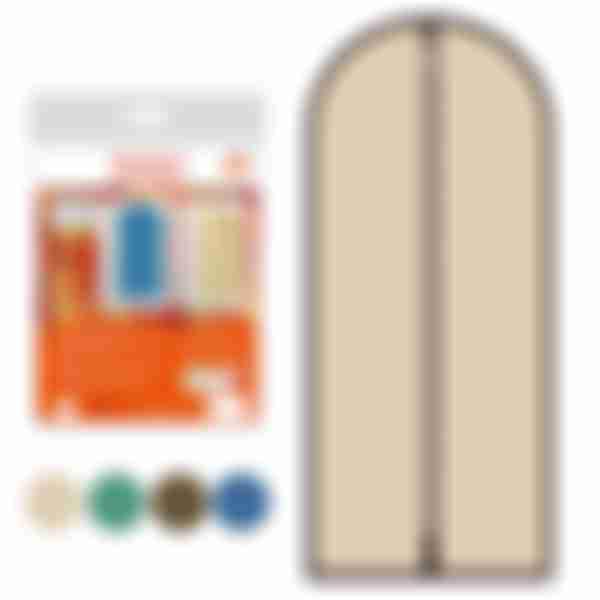 Чехол для одежды КМТ 60*150см 3цв. ИЛ70-4