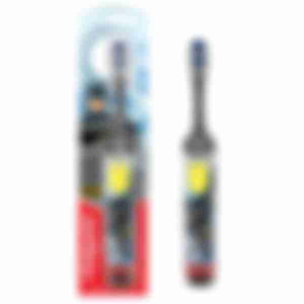 COLGATE Spiderman электрическая зубная щетка, питаемая от батареи, супермягкая серая