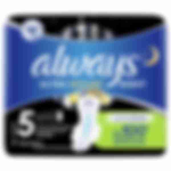 Гигиенические прокладки P&G ALWAYS ultra night extra, 7шт