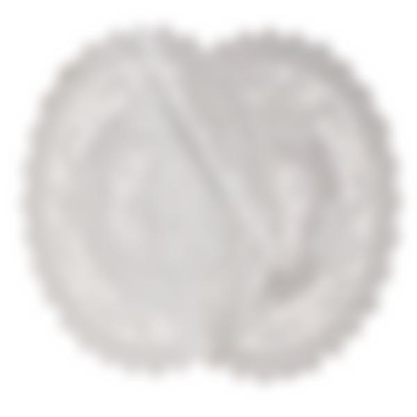 Салфетка виниловая d-30см круглая 3108