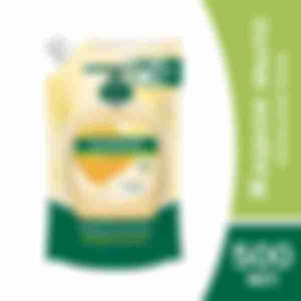 Жидкое мыло для рук PALMOLIVE Натурэль Питание Мед и Увлажняющее молочко дой-пак, 500 мл