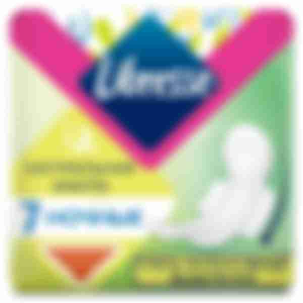 Прокладки гигиенические Libresse Natural Care Maxi Goodnight, 7 шт.