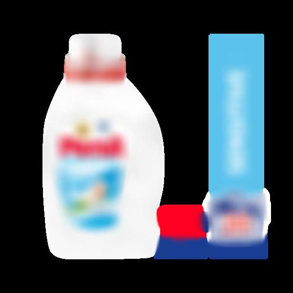 Жидкое средство для стирки Persil Sensitive для чувствительной кожи, гель для стирки 1,3л (20 стирок)