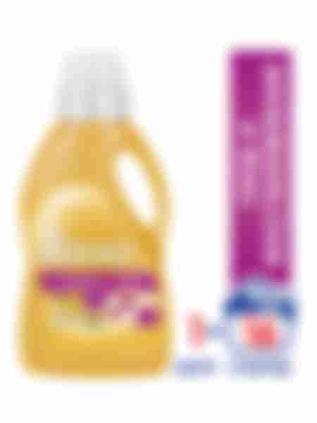 Гель для стирки Ласка Уход и Восстановление, жидкое средство для стирки 1л  (16 стирок)