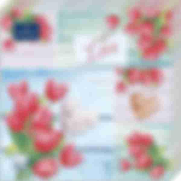 Бумажные салфетки Bouguet 3сл 33*33 Коллаж 20шт