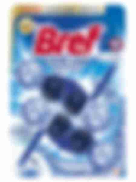 Туалетный блок Bref Color Aktivс Хлор-компонентом, 2х50г