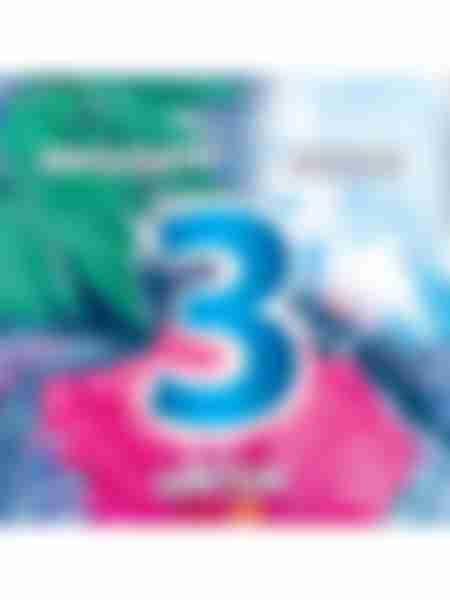 Туалетный блок Bref Color Aktiv Цветочная свежесть, 2х50г