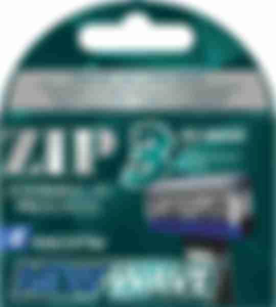 ZIP Сменные кассеты для бритвенного станка NewWave3 4 шт