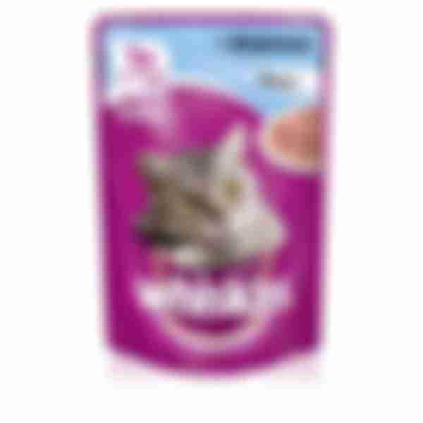 Whiskas влаж. корм для кошек Форель рагу 85г
