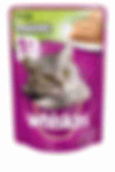 Whiskas влаж. корм для кошек паштет с уткой 85г