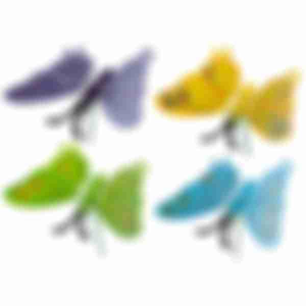 Штекер садовый декор. Бабочка 60см 008516