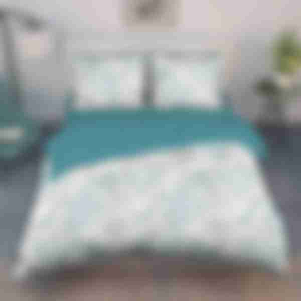 Комплект постельного белья Василиса Тропическое утро, двуспальное, перкаль