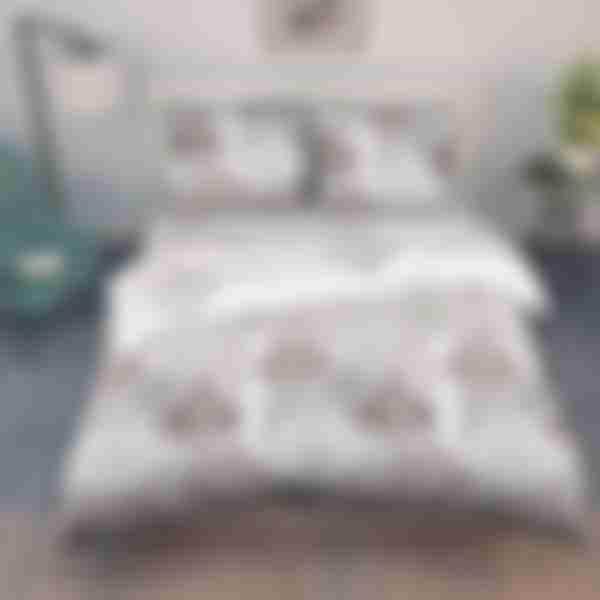 Комплект постельного белья Василиса Многолистник, двуспальное, перкаль